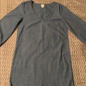 JCrew Chambray Dress•SZ XS